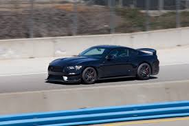 Flat Black Mustang Gt 2016 Ford Mustang Shelby Gt350 First Drive News Cars Com