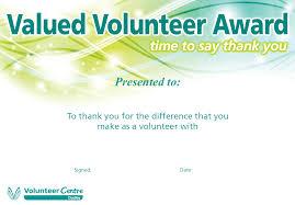volunteer certificate template best u0026 professional templates