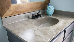 bathroom vanity makeover ideas remarkable diy vanity makeover concrete overlay at countertops