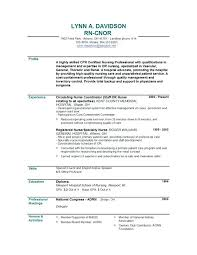 resumes for high students in contests entry level nursing resume inssite