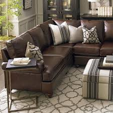 leather and microfiber sectional sofa american casual montague large l shaped sectional shapes living