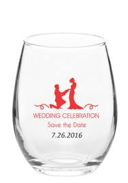 wedding favor glasses personalized wedding favors discountmugs