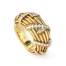 cartier diamond rings images Cartier gold and diamond ring fd gallery jpg