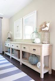 long side table with drawers dining room decorations foyer table drawers driftwood foyer table