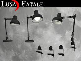 Drafting Table Light Fixtures Second Life Marketplace Swing Arm Desk And Drafting Table Lamps
