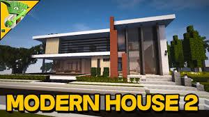 Modern House Minecraft Minecraft Modern Builds Showcase U2013 Modern House 2 Youtube
