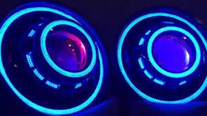 jeep wrangler blue headlights jeep wrangler jk tj projector headlights hid halos