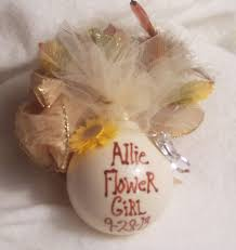 flower girl christmas ornament gotta gotta christmas for flower girl christmas ornament