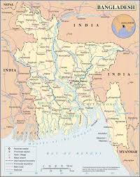Michigan Map With Cities by Maps Of Bangladesh Detailed Map Of Bangladesh In English
