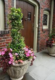 Porch Planter Ideas by Front Door Summer Decorating Ideas Front Door Planter For Next