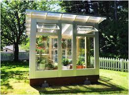 Small Backyard Greenhouse by Backyards Ergonomic Studio Sprouts Backyard Greenhouse Combines
