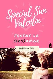 imagenes de desamor san valentin especial san valentín selección de textos de des amor the