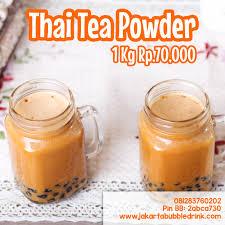 Teh Bubuk jual bubuk minuman harga grosir supplier thai tea teh thailand