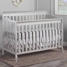 Crib White Convertible On Me Ashton 5 In 1 Convertible Crib Pearl White Walmart
