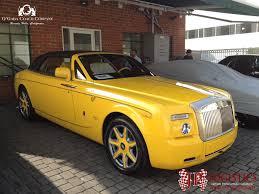 yellow rolls royce soulsteer com yellow painted bijan rolls royce phantom drophead
