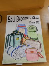 hands on bible teacher saul anointed king of hebrews by samuel