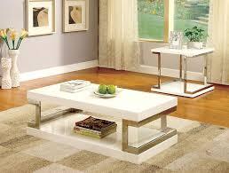 amazon com furniture of america adina modern end table white