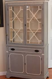 Kitchen China Cabinet Painted China Cabinet Home Painting Ideas