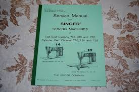 professional service manual for singer 700 706 708 720 726 728
