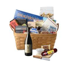 cheese and wine gift baskets montinore estate indulge in oregon wine gift basket