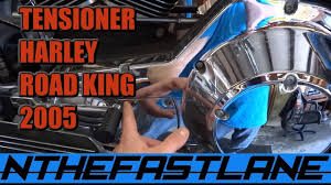 primary chain tensioner how to adjust harley davidson road king