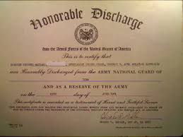 honorable discharge certificate honorable discharge certificate template 6 the best and