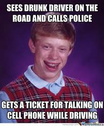 Internet Police Meme - bad luck brian calls the police by crazy comet meme center