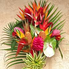 tropical flower arrangements best of kauai tropical flower arrangement features lots of
