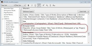 how to cite a newspaper article using apa format compudocs us