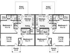 Rental House Plans Simple Small House Floor Plans Modular Duplex Tlc Modular