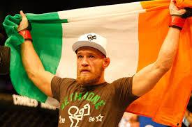 Irish Flag Shot Conor Mcgregor U0027s Ufc Dublin Sing Along Bloody Elbow
