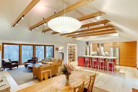 modern farmhouse with open floorplan