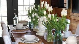 splendid simple dining room table floral arrangements simple