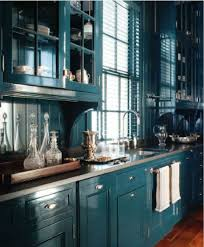 Turquoise Kitchen Cabinets I Love The Color Of The Cabinets Good - Turquoise kitchen cabinets
