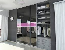 Espresso Closet Doors Sliding Mirror Closet Doors Bathroom Contemporary With