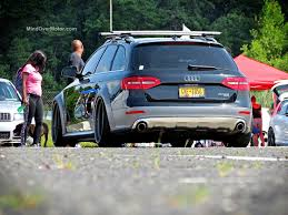 stanced maserati slammed audi allroad at waterfest 20 mind over motor