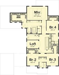 prairie style floor plans prairie style house plan with porte cochere 62561dj