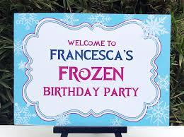 frozen birthday party printable templates frozen party theme