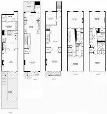 Long Narrow Floor Plans Manhattan Brownstone Floor Plans Manhattan Brownstone Floor Plans