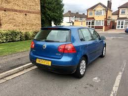 2004 volkswagen golf 1 6 fsi u2013 petrol manual blue mot only 86k