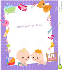 pink baby photo frames stock vector colourbox personalized baby