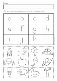 cut and paste letter worksheets worksheets best solutions of free