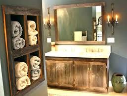 Reclaimed Wood Bathroom Mirror Ideas Reclaimed Wood Bathroom Mirror For Distressed Bathroom