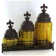 fleur de lis kitchen canisters fleur de lis kitchen canisters glass kitchen bathroom