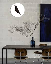art painting for home decoration 2017 no framed modern nordic black bird canvas painting home