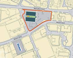 homebase wokingham road bracknell completely retail