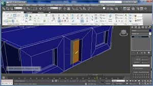 3ds max 2010 simple house tutorial edit poly graphite