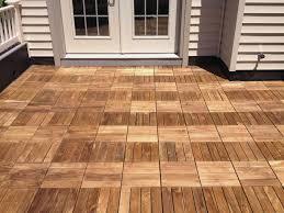 interlocking wood deck tiles u2014 new basement and tile