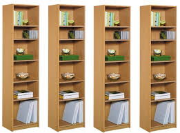 Extra Tall Bookcases Maine Half Width Tall Extra Deep Bookcase 12 99 Argos