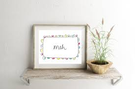 funny wall art funny art print funny home decor art print